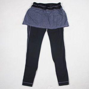 Athleta skirt with leggings workout pants